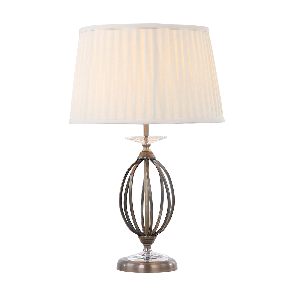 Aegean 1lt Table Lamp Aged Brass