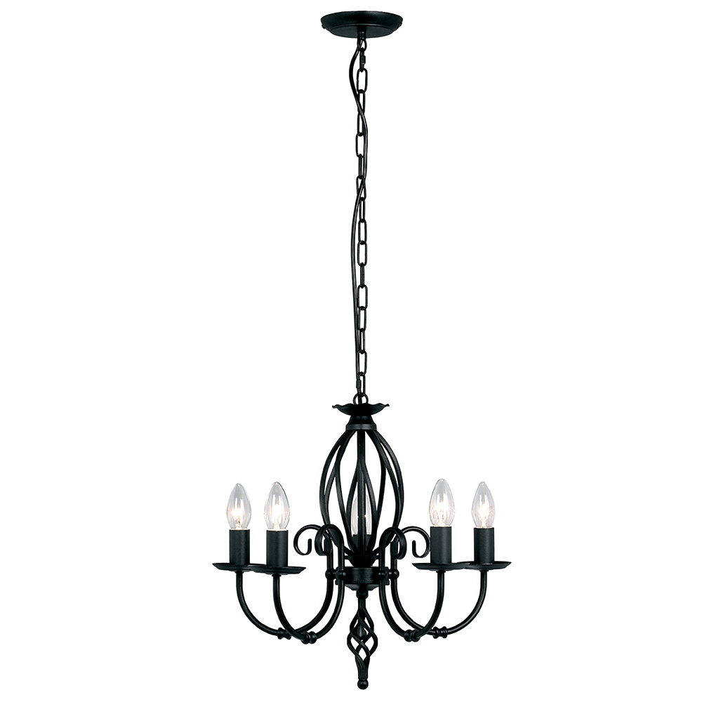 Artisan 5lt Chandelier Black