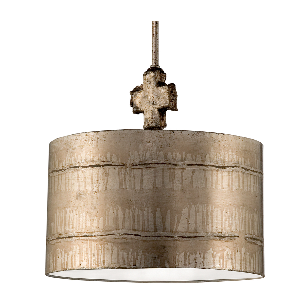 Fragment Medium Silver Table Lamp