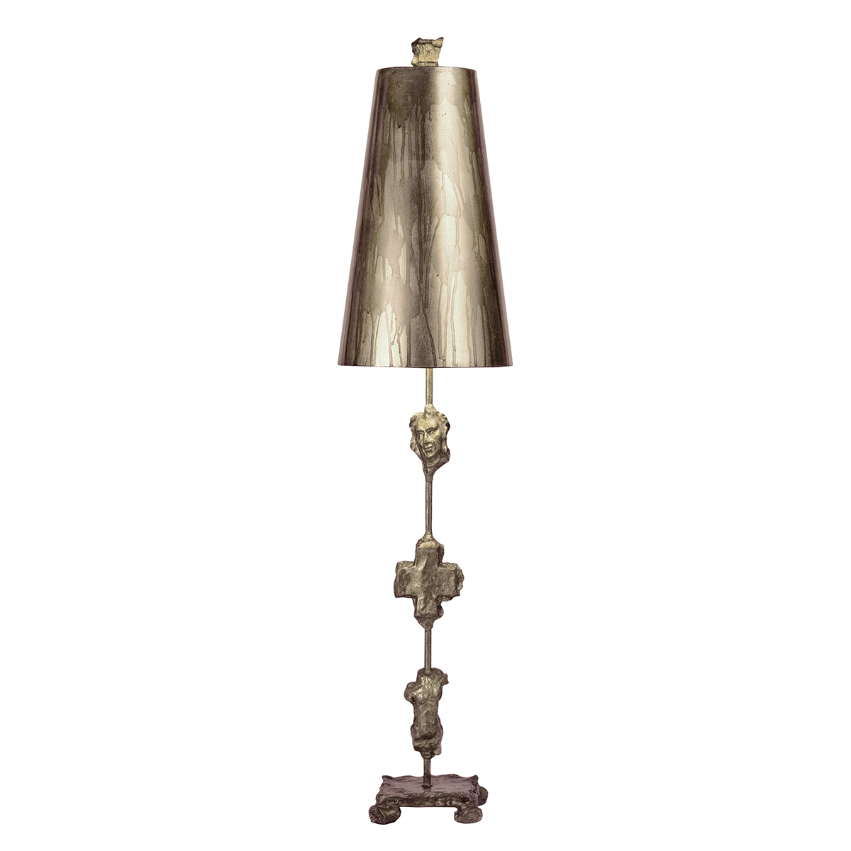 Fragment Silver Table Lamp