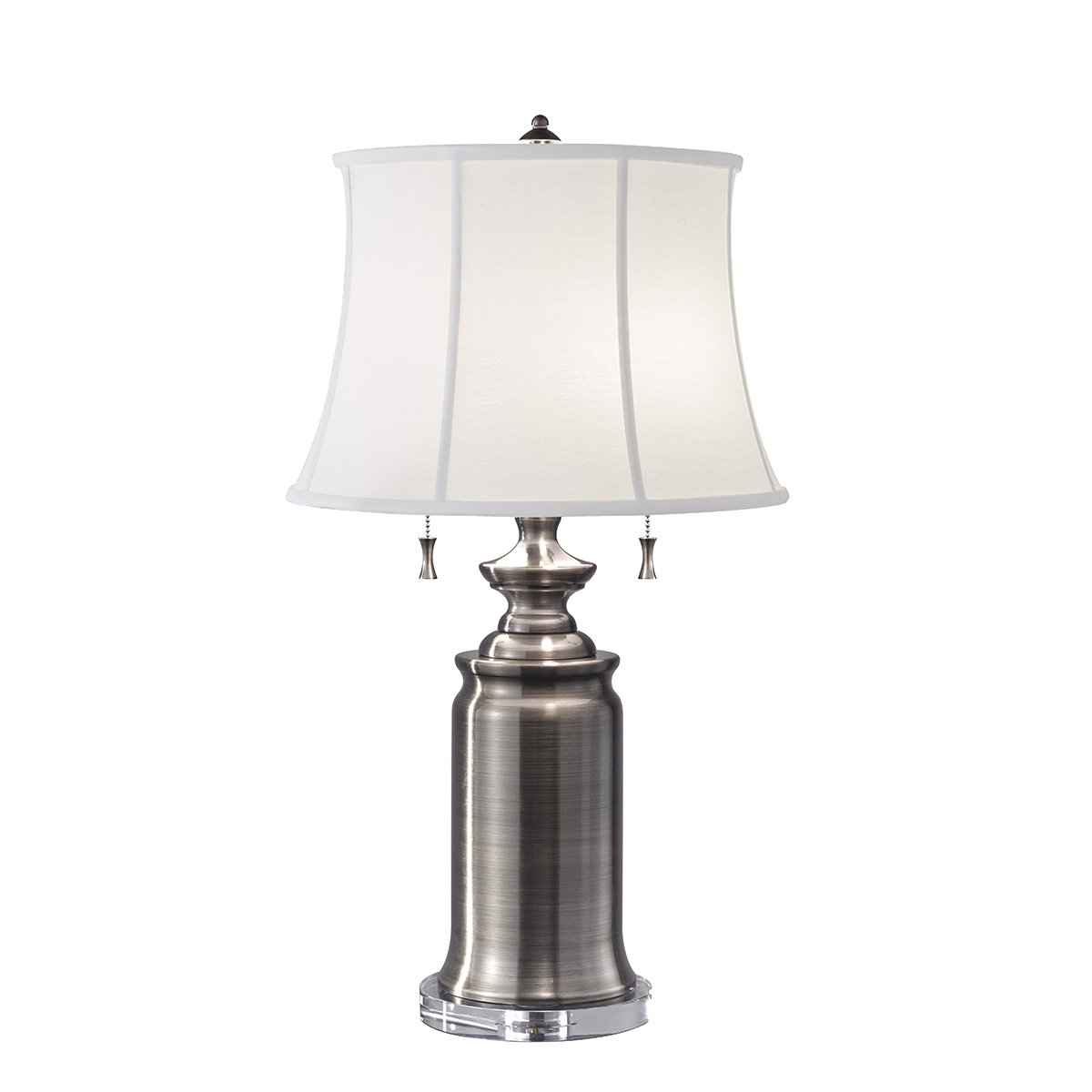 Stateroom 2lt Table Lamp Antique Nickel