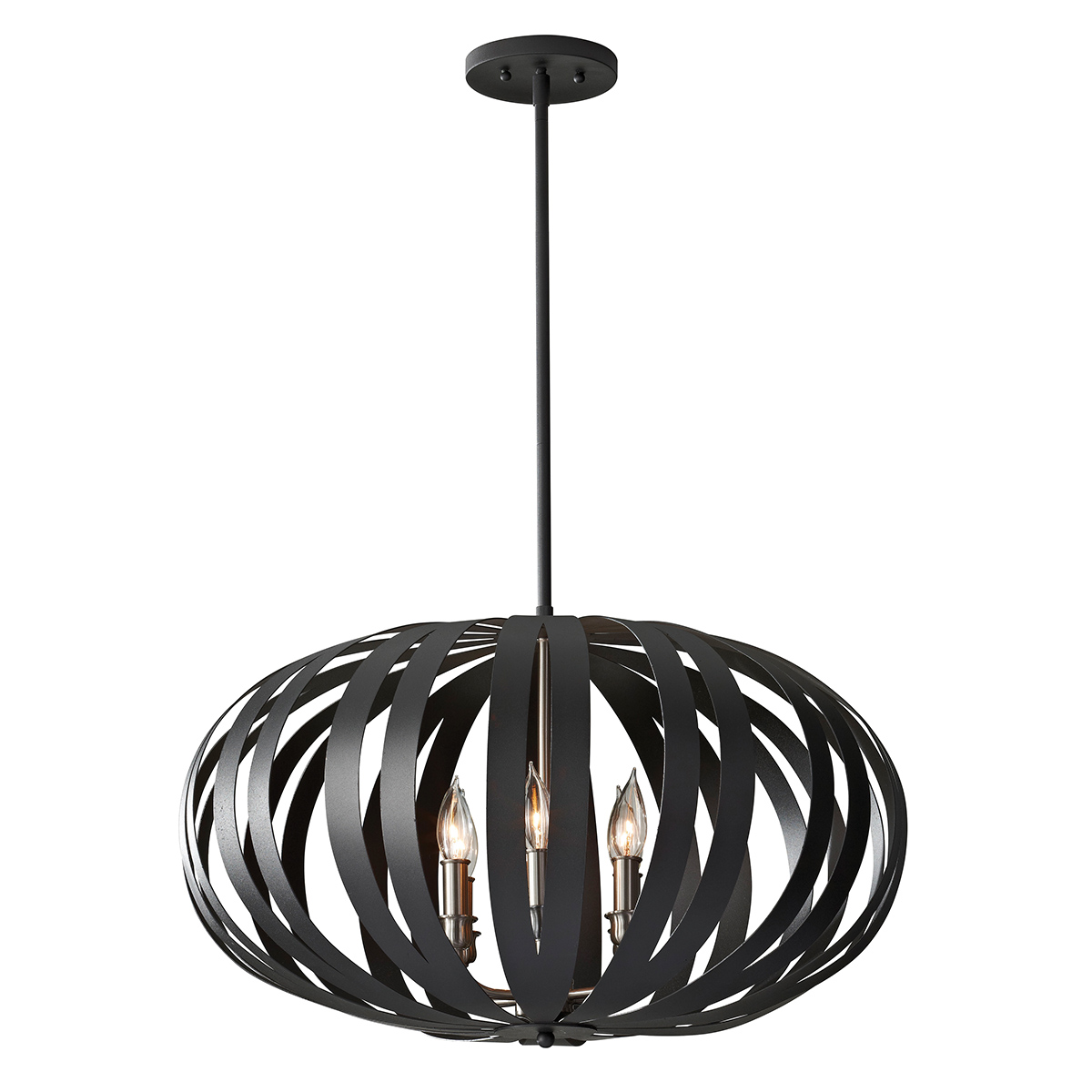 Woodstock 6lt Large Chandelier