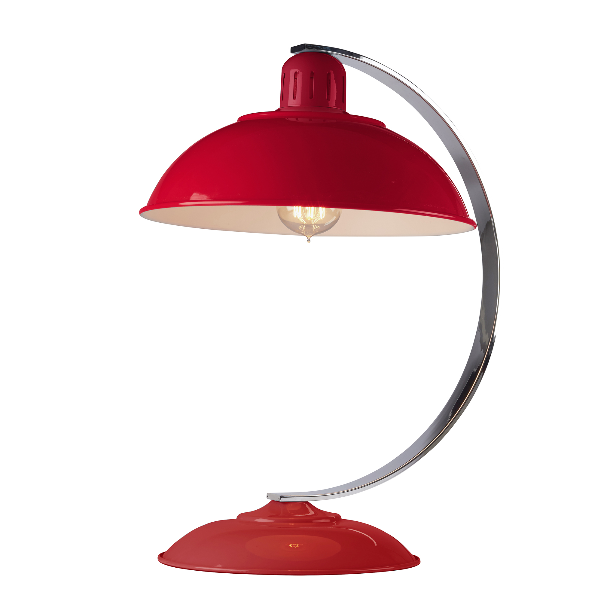 Franklin Desk Lamp Red