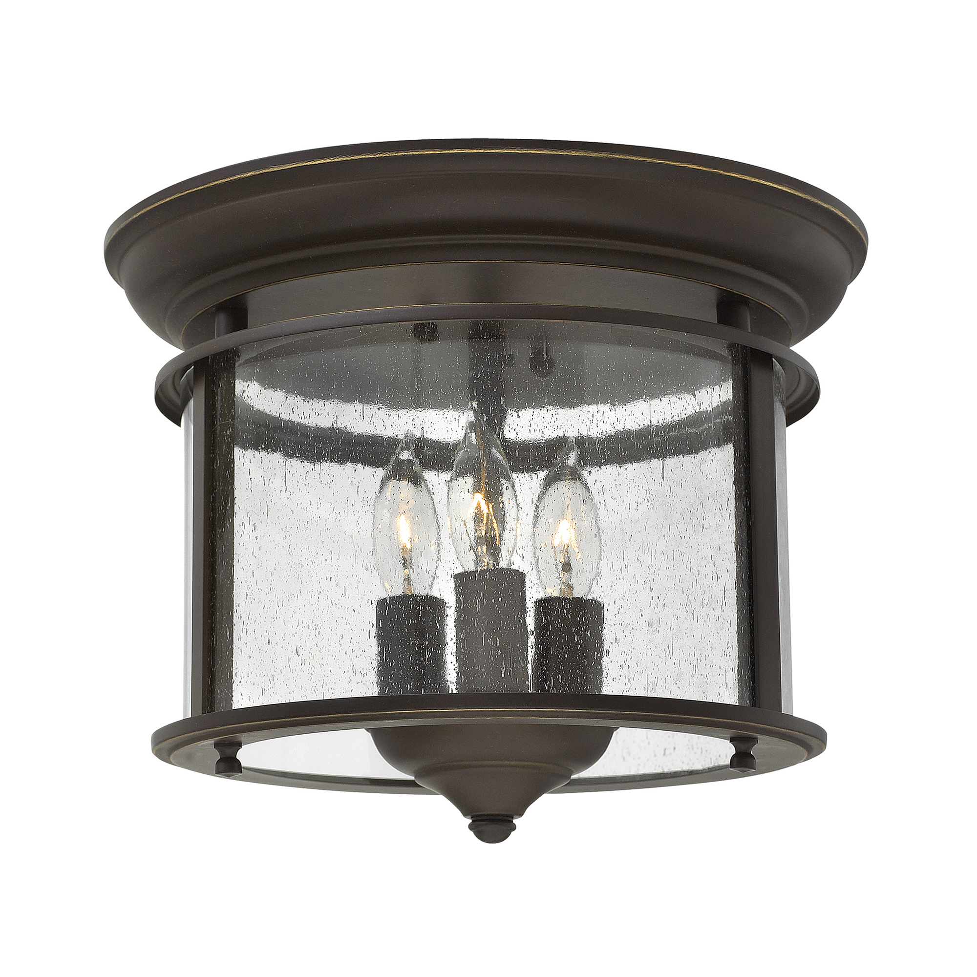 Gentry Flush Mount Olde Bronze