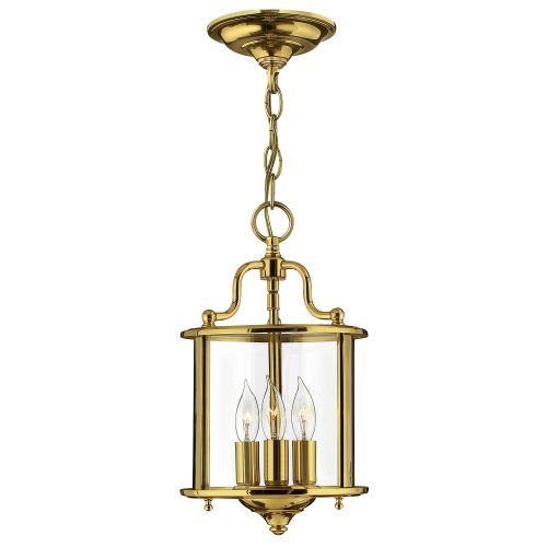 Gentry Small Pendant Polished Brass