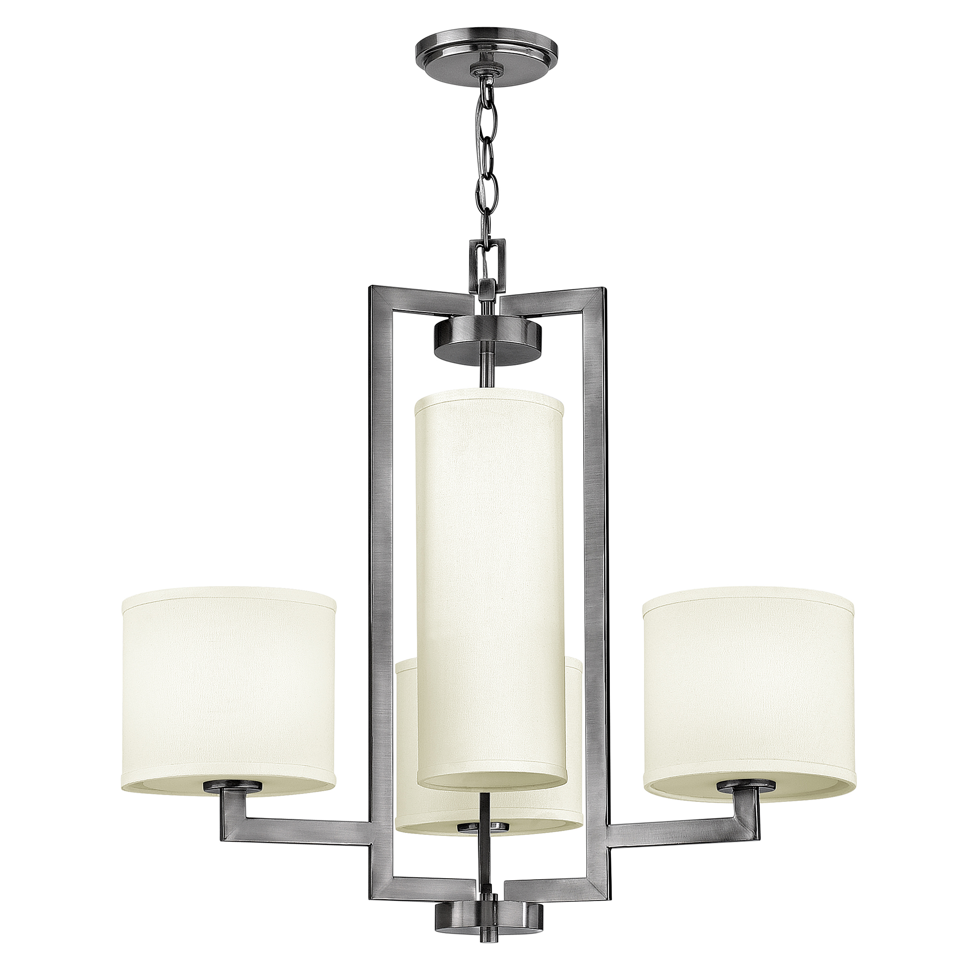 Hampton 4lt Chandelier