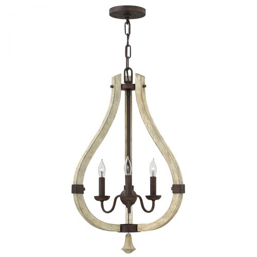 Middlefield 3lt Chandelier