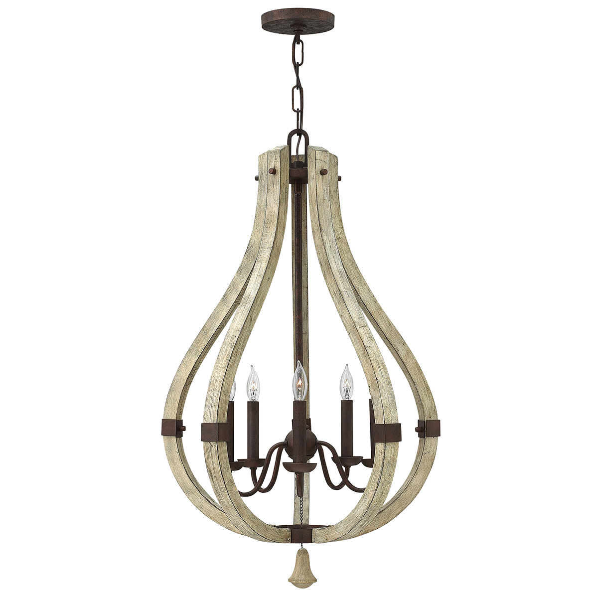 Middlefield 5lt Chandelier