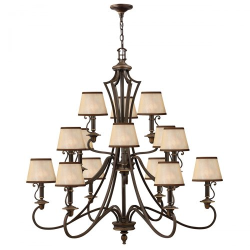Plymouth 15lt Chandelier