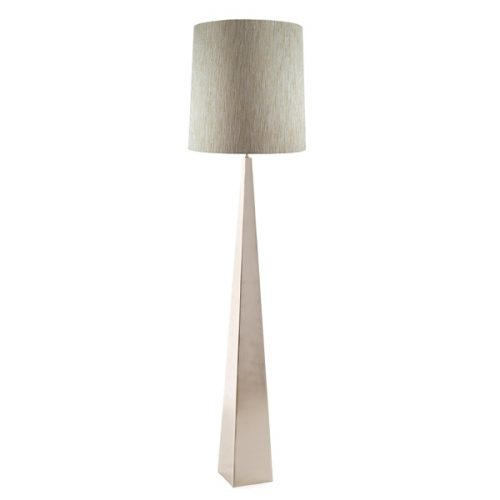 Ascent Floor Lamp Polished Nickel