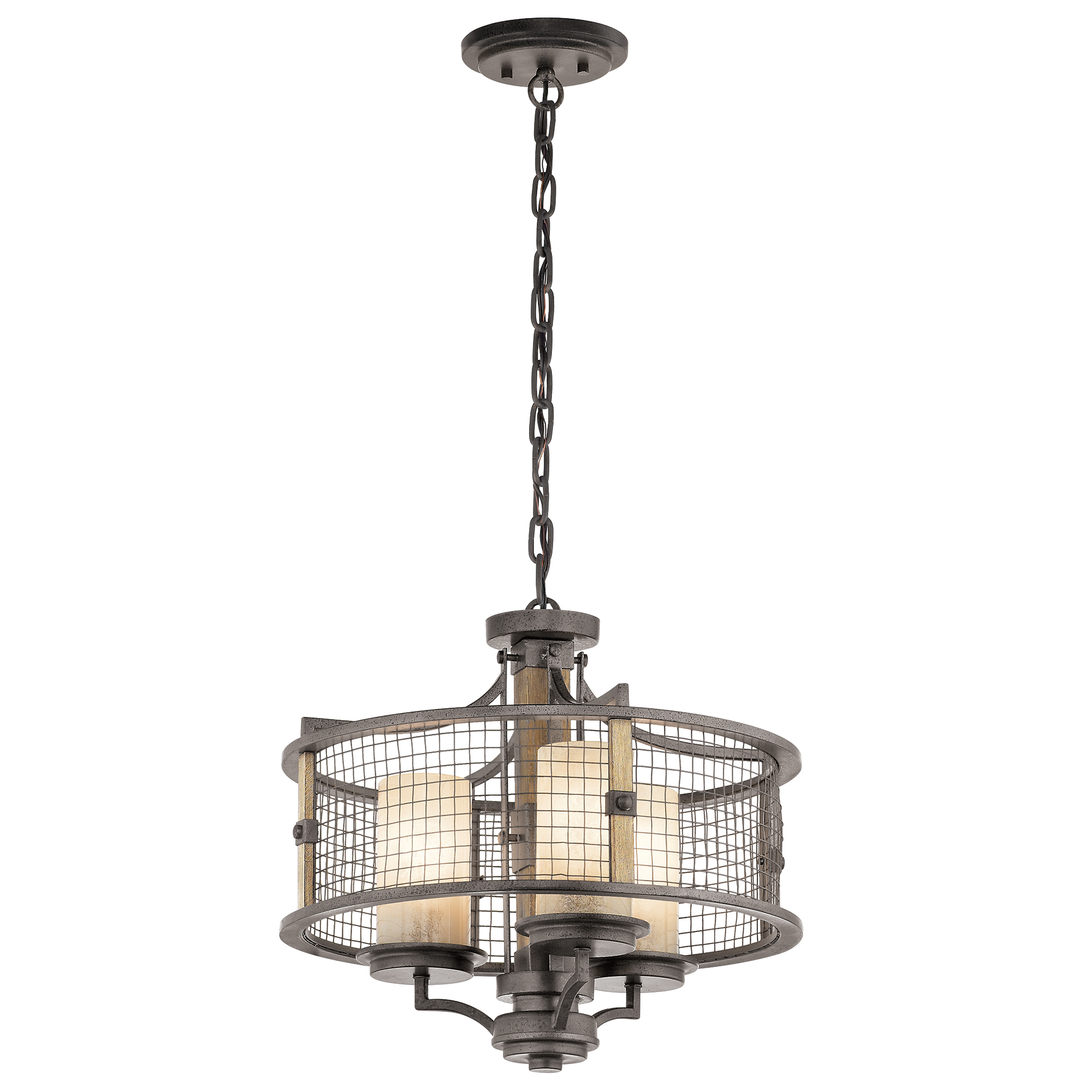 Ahrendale 3lt Duo-Mount Chandelier