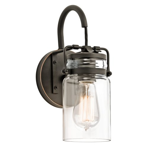 Brinley 1lt Wall Light