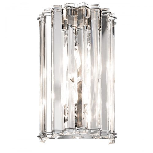 Crystal Skye 2lt Wall Light