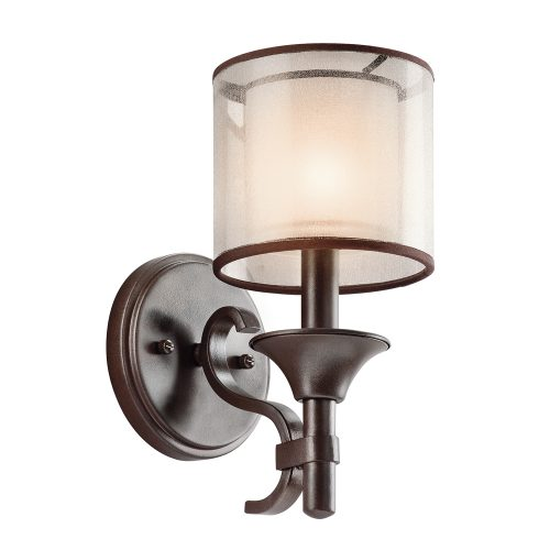 Lacey 1lt Wall Light