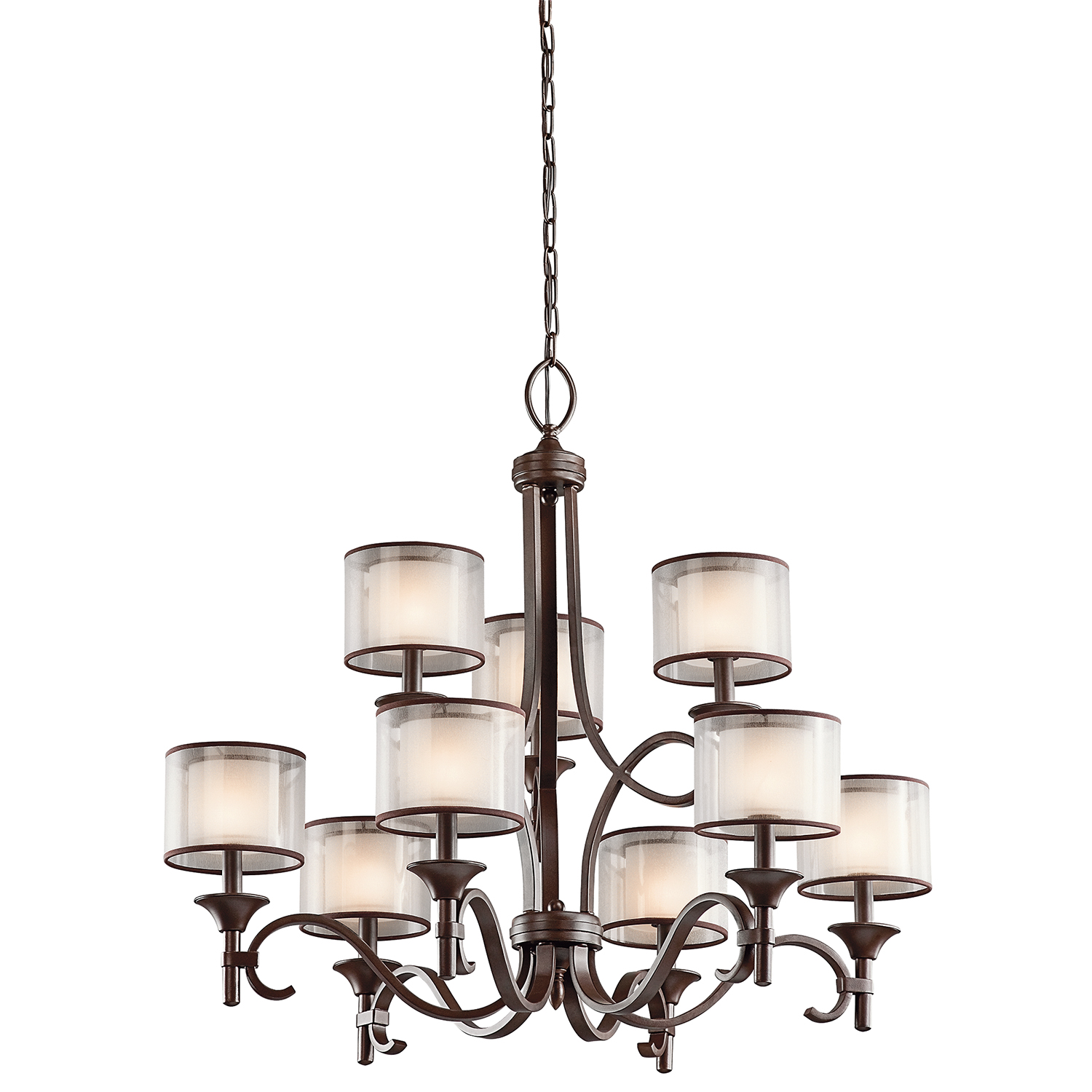 Lacey 9lt Chandelier