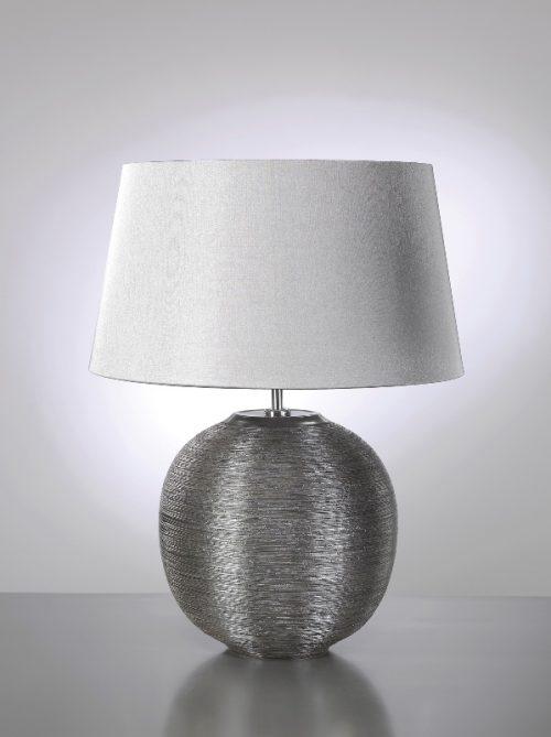 Caesar Silver Table Lamp