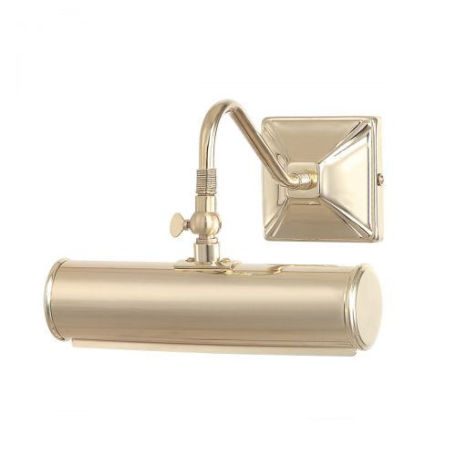 Picture Light 1lt Small Polished Brass