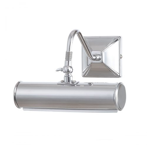Picture Light 1lt Small Polished Chrome