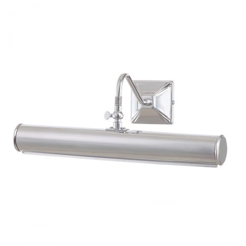 Picture Light 2lt Large Polished Chrome
