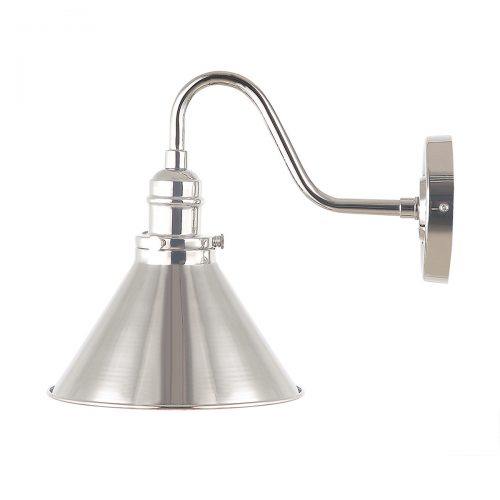 Provence 1lt Wall Light Polished Nickel