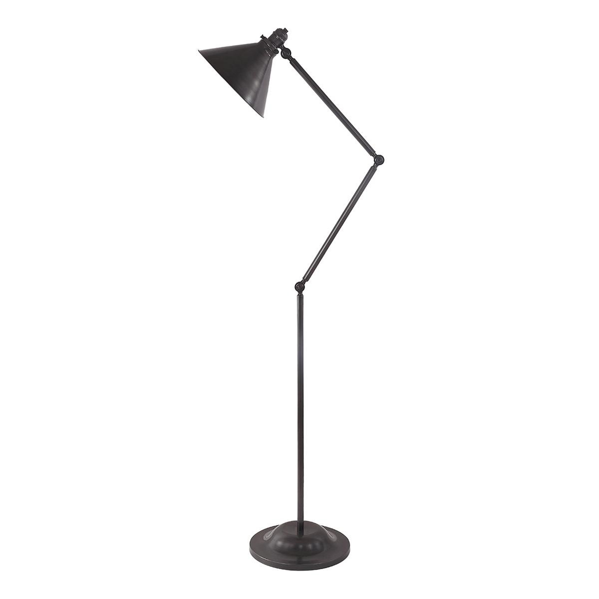Provence 1lt Floor Lamp Old Bronze