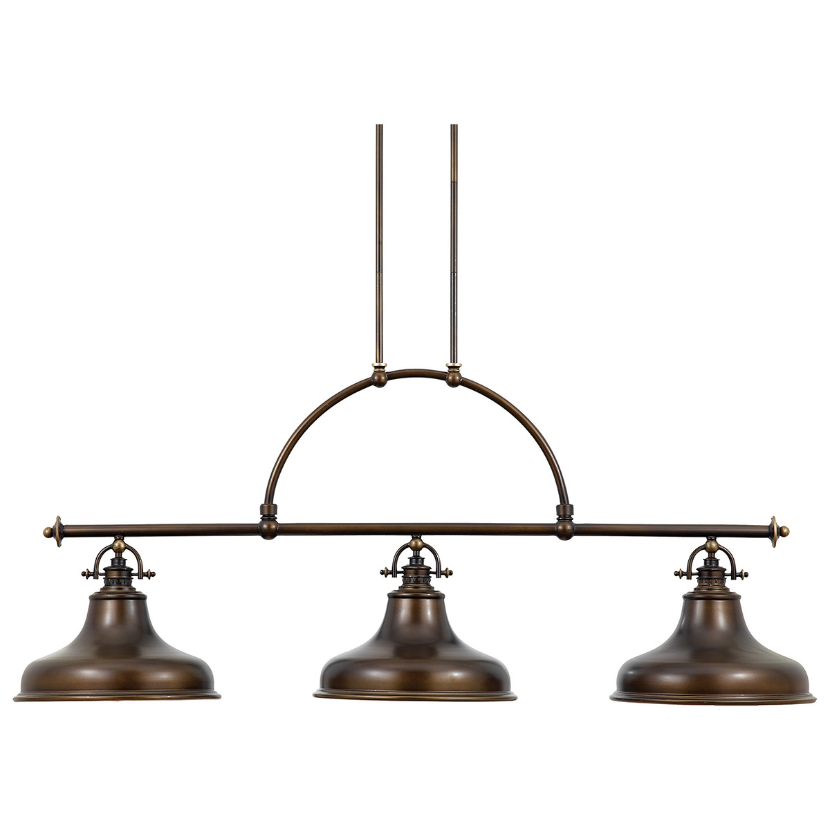 Emery 3lt Island Light Palladian Bronze