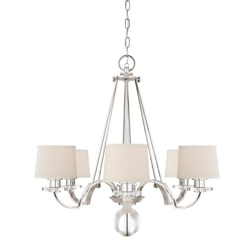 Uptown Sutton Place 6lt Chandelier