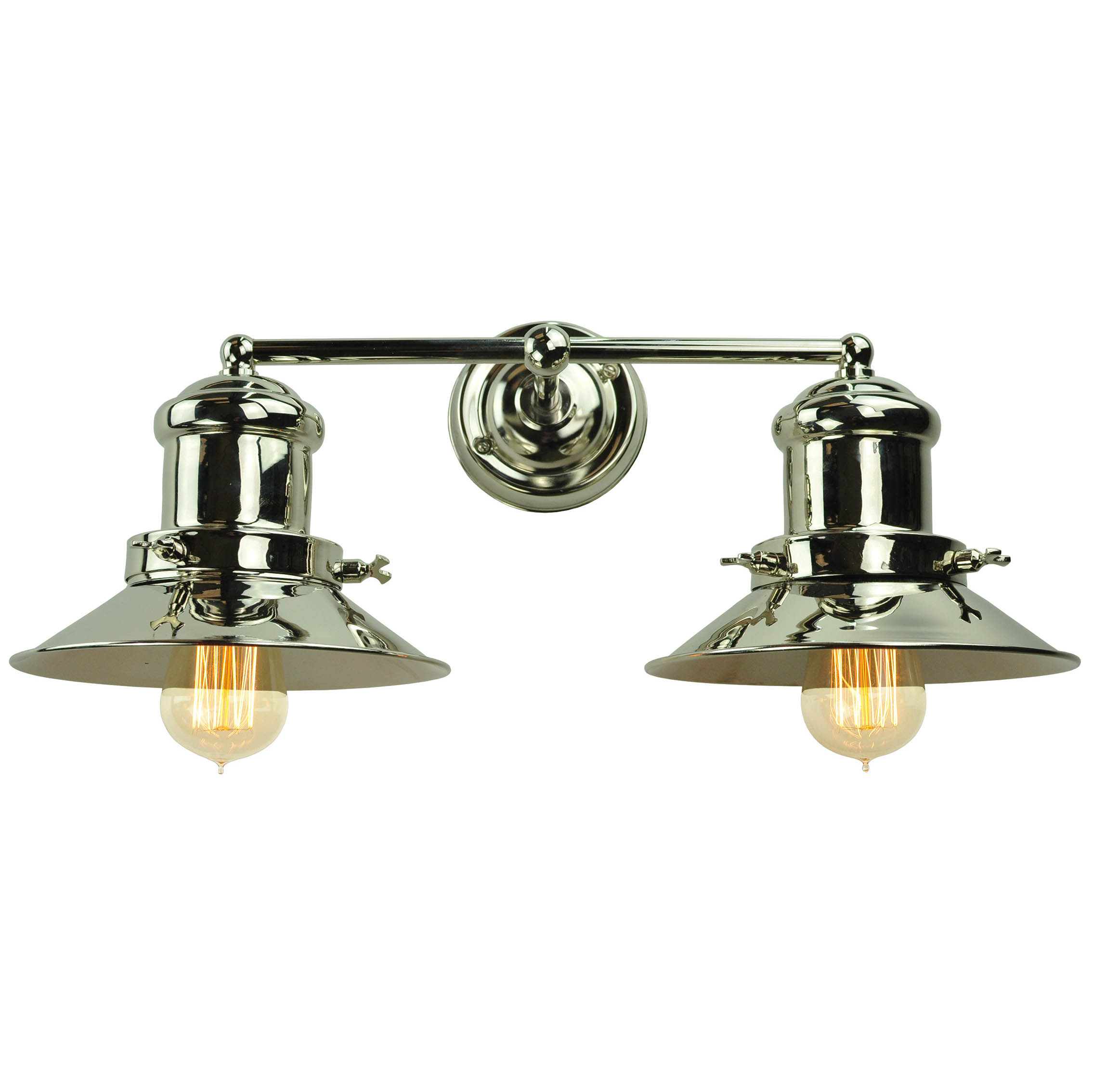 Edison Small double wall light