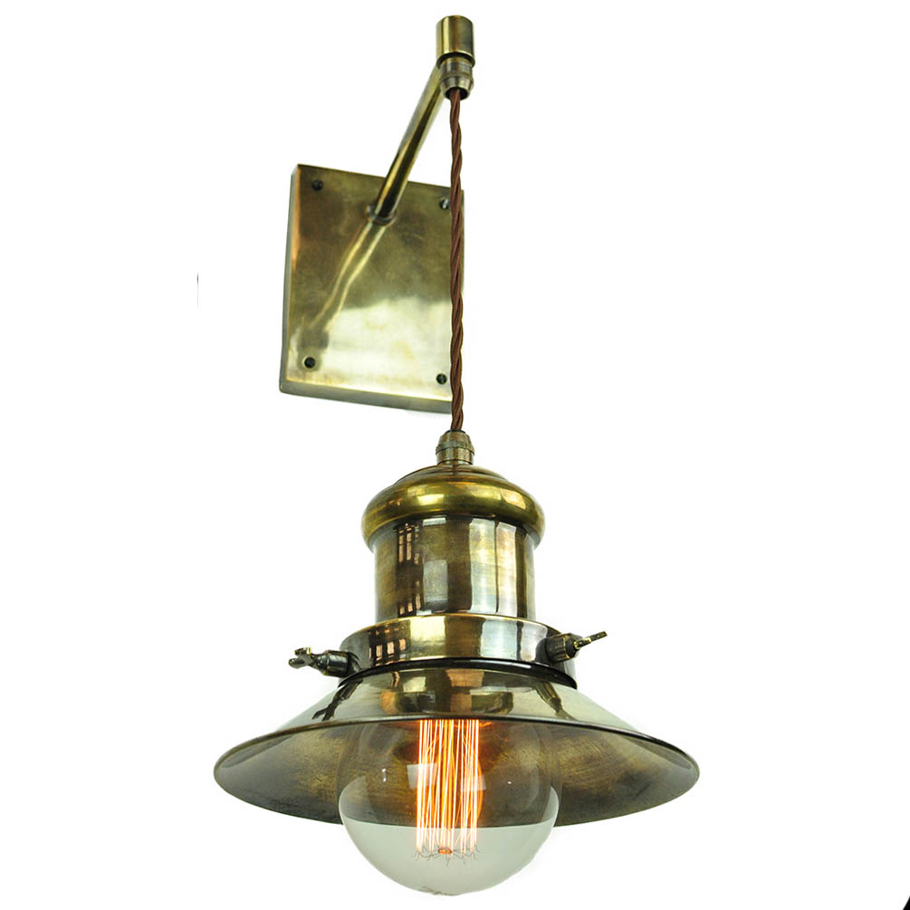 Edison wall light