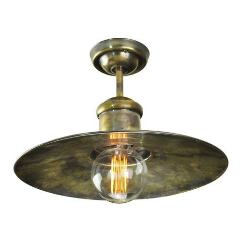 Edison Large flush ceiling light