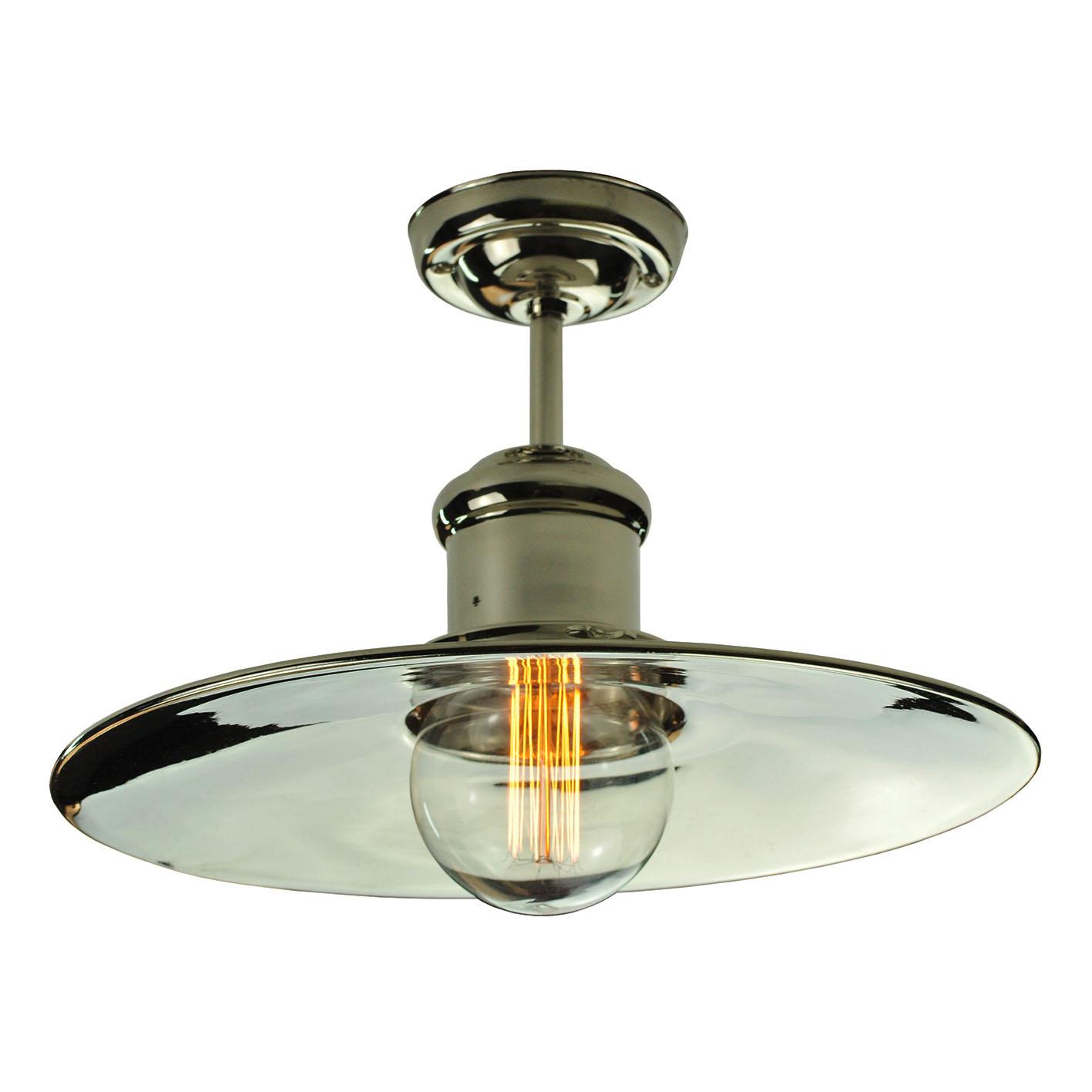 Ceiling Lights Edison : Edison large flush ceiling light enlighten of bath