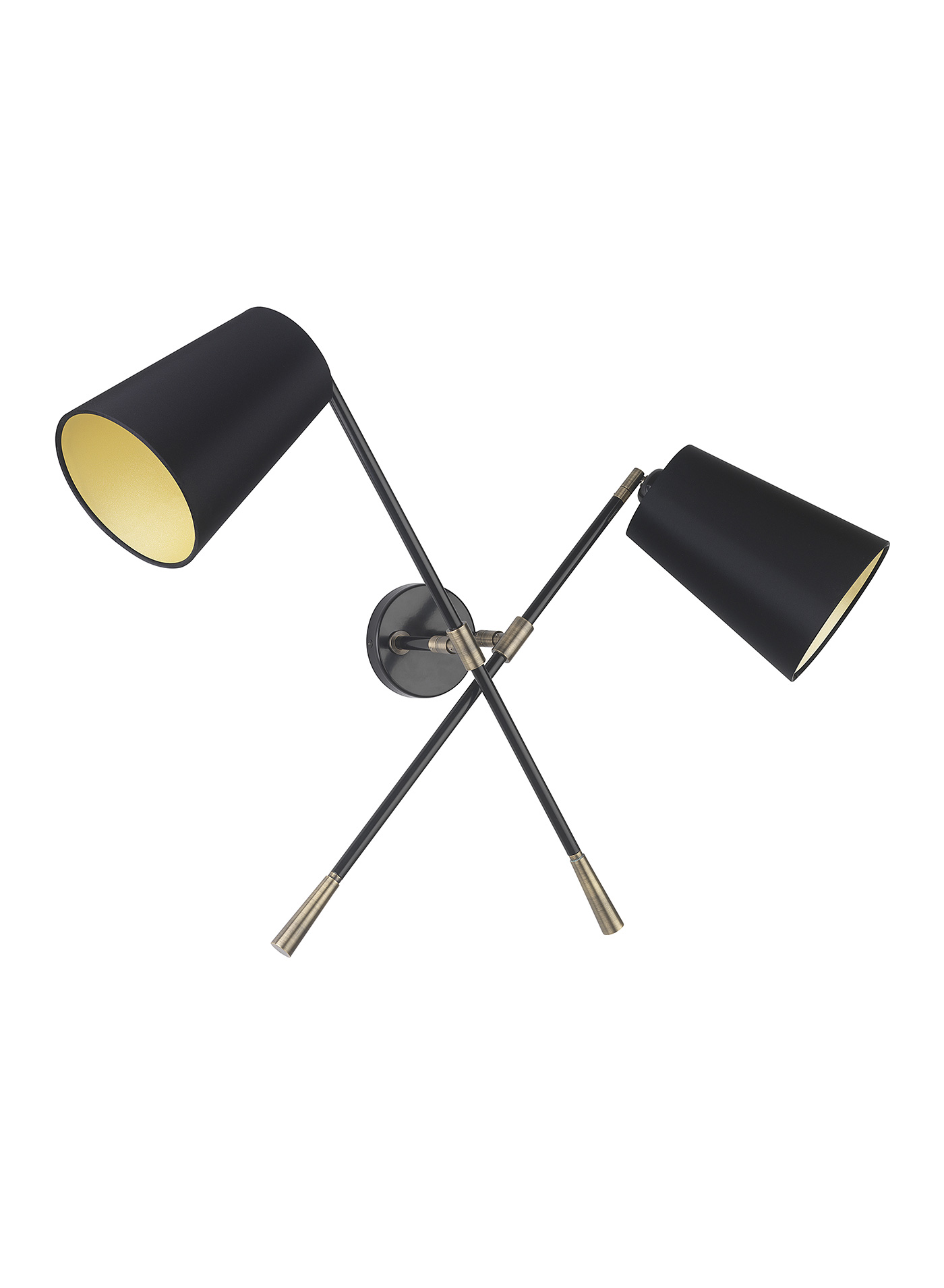 Andro Double Wall Light