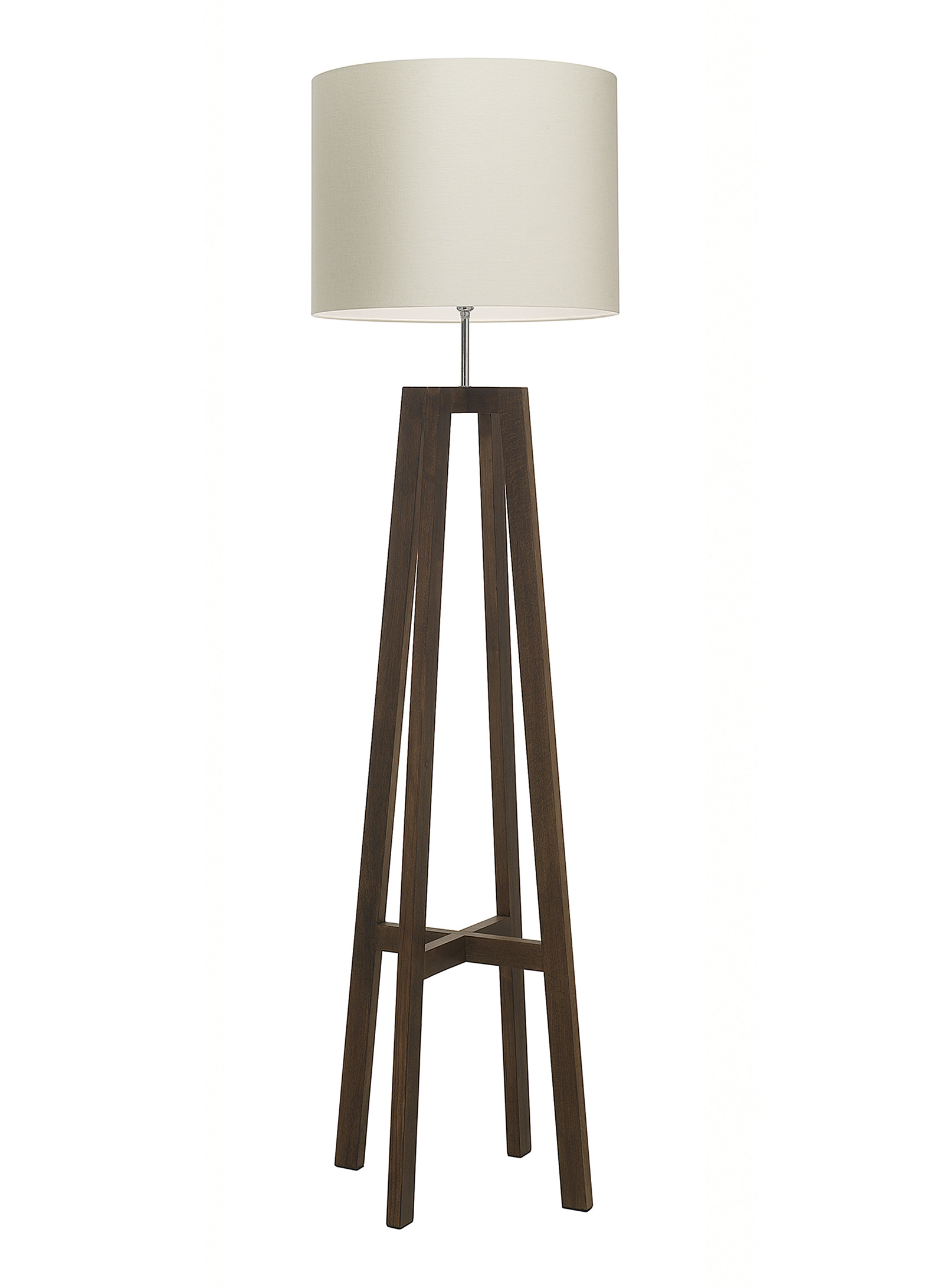 Tripod Wood Floor Lamp Enlighten Of Bath
