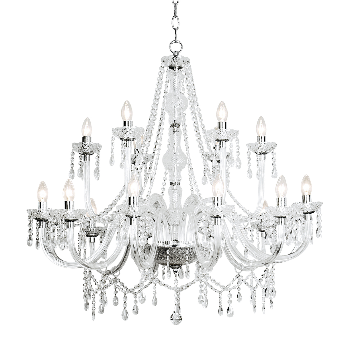Cup Light Chandelier Classic